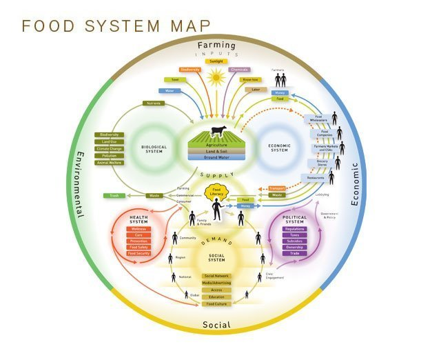Food system tools nourish food community explore this richly detailed visualization of our food system ccuart Choice Image