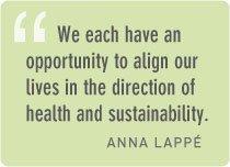 Anna Lappe quote