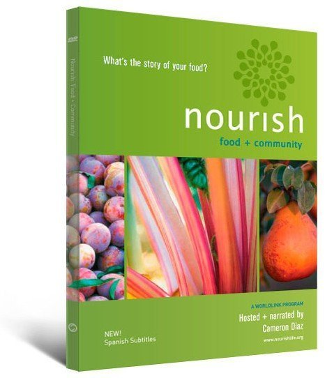 Nourish DVD package